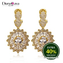 Best Made in China Jewelry Zirconia Stones Top Quality Korea Style Crystal Earrings