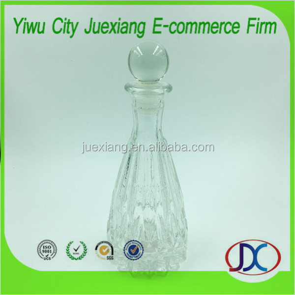100ml diamond perfume glass bottle reed diffuser bottle