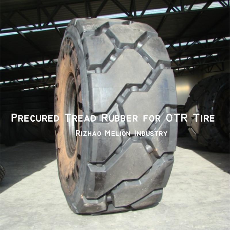 Pre-cure Retread OTR Tire 23.5-25'' 26.5-25'' 29.5-25''