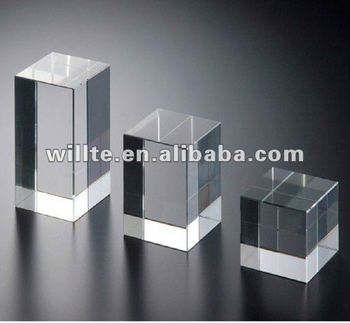 Custom factory wholesale acrylic jewelry display block