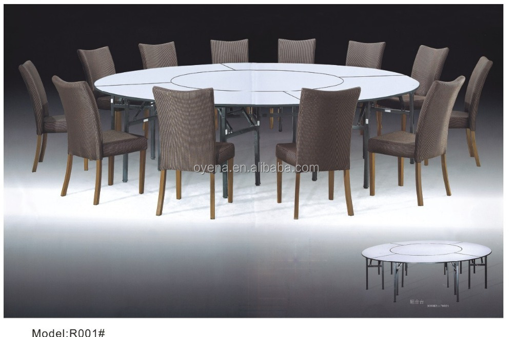 plywood with ABS edge table banquet table R001