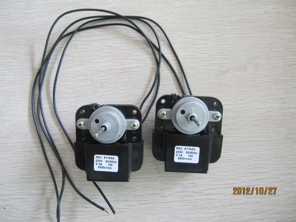 china factory fan motor mini motor (refrigerator motor)