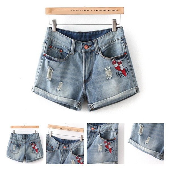Women's Denim Shorts, 2015 summer style Women's Jeans Shorts, Hot Sale Ladies' Short Pants for Women Girls Plus Size S M L XL