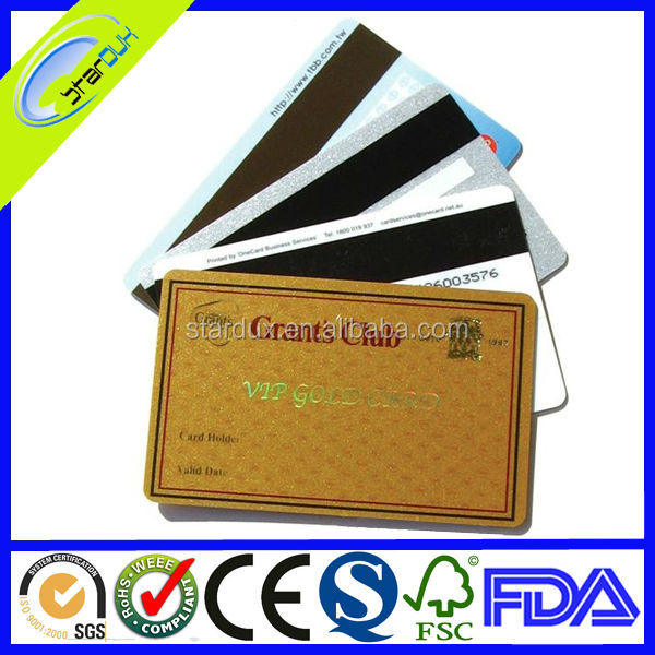 blank credit cards with magnetic stripe making