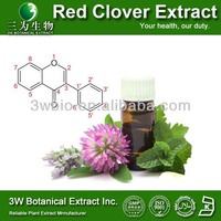 High Quality Red Clover P.E./100% Natural Red Clover Extract Isoflavone HPLC