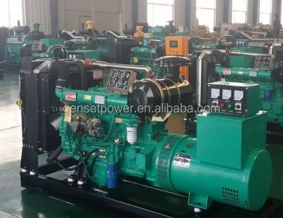 50Hz 32 kw Water Cooled Engine China Ricardo 40 kva Diesel Generator