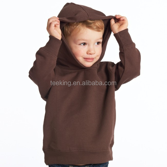 Pullover plain baby hoodies cheap blank baby pullover hoodie