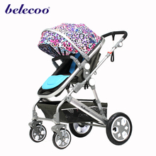Belecoo good quality 535-2 elastic fabric baby pram child stroller