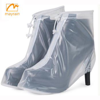2017 cheap prices PVC rain shoes cover, shoe cover dispenser waterproof rain boots