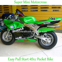 High Speed Gas Power Mini Motor 49CC Pocket Bike