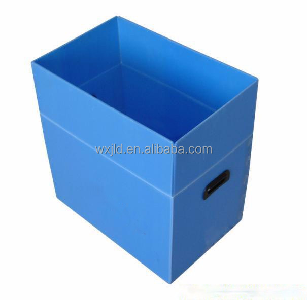folding corrugated plastic reusable box with best price