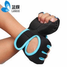Breathable Light half finger gloves women