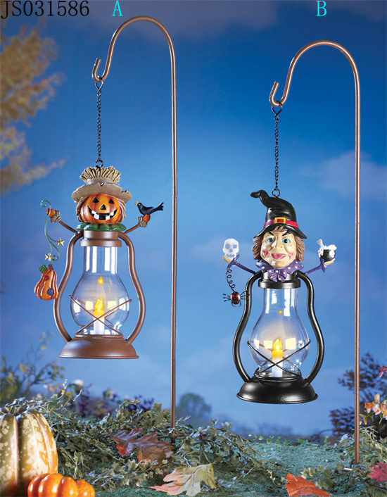 2016 New Christmas decoration, Halloween lantern stick, with pumpkin or witch design