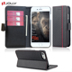 Rfid Blocking Carbon Fiber Custom Folio Leather Mobile Phone Wallet Case For iPhone 7