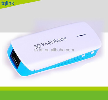 Like Hame A1 - 3G Mobile Power Router MPR-01 (3 in 1:Power Bank , 3G Hotspot , Mini AP)- White