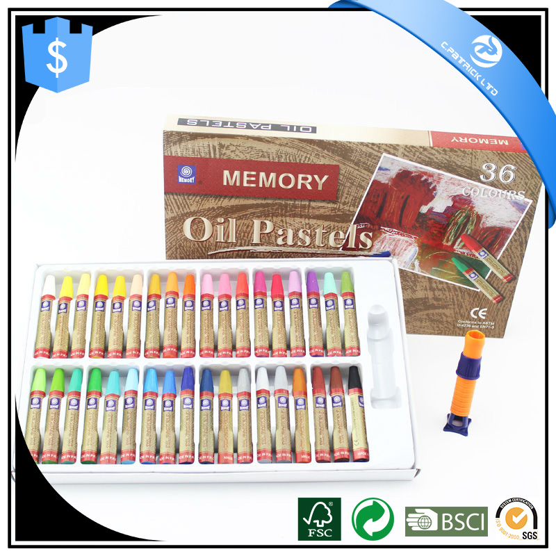 18 colors/24 colors/36 colors oil pastel non toxic oil pastel set