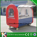 Fast Food Dining Car cart moving food cart camper trailers food grilling cart