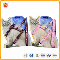 Heavy duty strong nylon cat collars and leashes in pet leashes