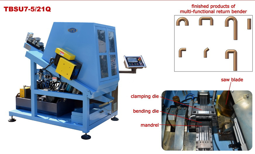 new products return bender heat exchanger bending machine