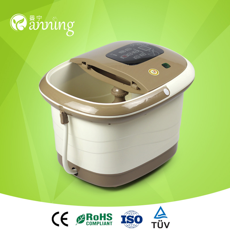 Smart intelligent plastic home appliance prototype,electric foot bath basin,free standing royal type claw foot bath tub for sale