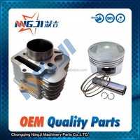 54mm diameter Motorcycle Cylinder kit for Thai Honda125 enginHigh Quality Motorcycle Engine Parts Engine Piston set Piston Ring