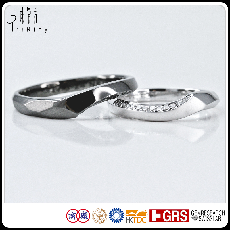 Men And Women Bands Gold or Platinum Wedding Bands Ring For Man Diamond Gold Ring Jewelry Gift Set Black Gold Natural Diamond