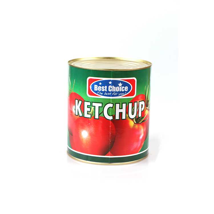 Wholesale 397G 14oz Food Companies Tin Can Make tamato Ketchup Condiment