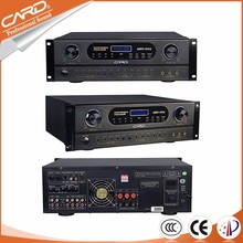 Customized hybrid audio karaoke dsp power amplifier