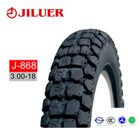 DOT EMARK certificate motobike tire Strong structure 6PR 3.0-18motorcycle tyre