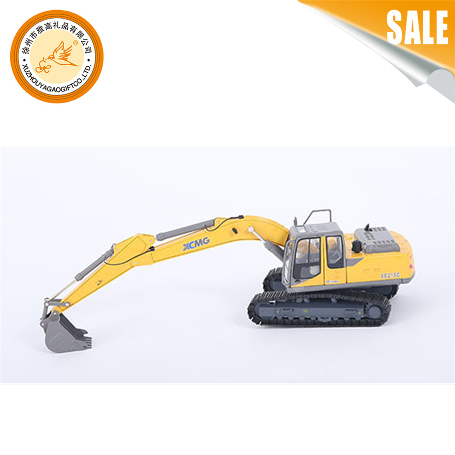 High quality children metal toys die cast excavator construction model car