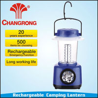 LED Hand Solar Crank Lantern Outdoor Rechargeable Camping Work Light