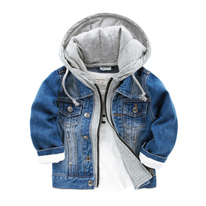 New Spring And Autumn Kids Clothes Casual Baby Boy Denim Jacket