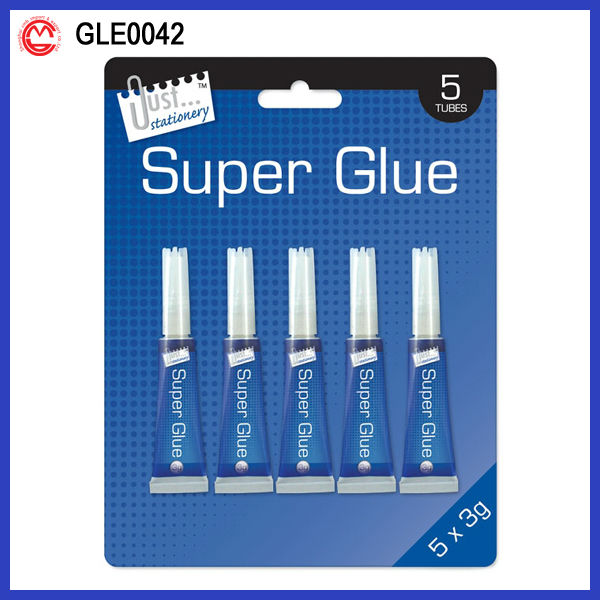Blister Pack Clear super glue for shoes