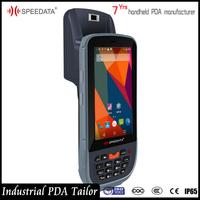 OEM/ ODM Custom Made Android Handheld Crossmatch Fingerprint Reader PC Tablet with Barcode Scanner NFC Reader