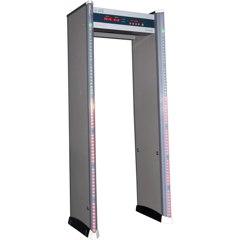 LED LIGHT 6 ZONE DOOR FRAME Metal Detector