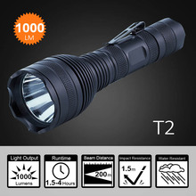 Professional High Lumen Swat Rechargeable Led Flashlight Tactical