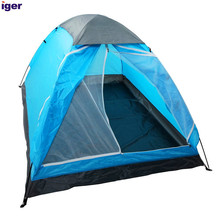 Lightweight 2 Person Backpacking With Carry Bag, Blue Camping Trailer Tents Camping Outdoor