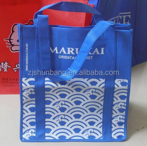 laminated nonwoven bag non woven bag india pp handle recycle non-woven shopping bag
