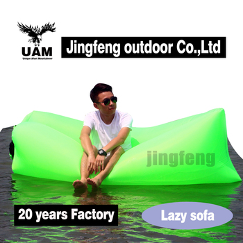 Popular inflatable lazy sleeping bag sofa