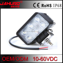Car Auto Truck Work Light 6 LED 4.5Inch 18W 60 degree Wide Flood Reverse Fog Light New with CE ROHS/E-Mark/EMC/IP68 for Offroad