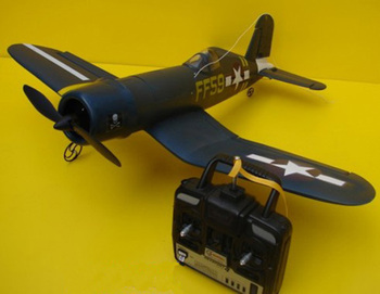 ep-601 electric powered r/c plane - F4U