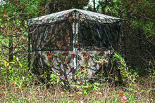 High-end 1 - 2 Person Tent Type and 1200D PU coated Polyester Fabric portable hunting blinds,CZX-064 hunting blinds Tent