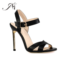 JHY-YQY-04021 2018 Ladies fashion hot selling factory price summer sex high heel women sandals