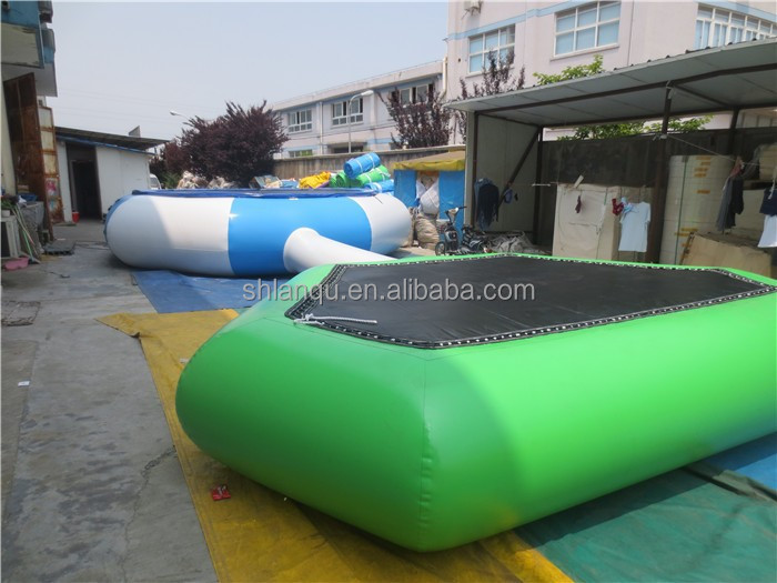 Joy toys cheap inflatable water trampoline for sale