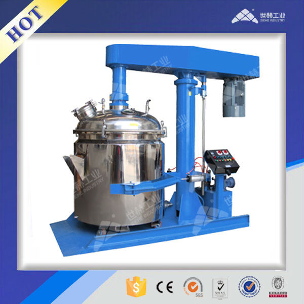 Closed/Vacuum high speed dispersing mixer