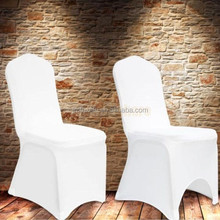 Hotel Banquet Event Party Wedding Decoration Supplier Cheap Stretch Spandex Lycra Chair Covers