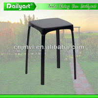 2014 Korean style metal iron swivel stool(V052002)