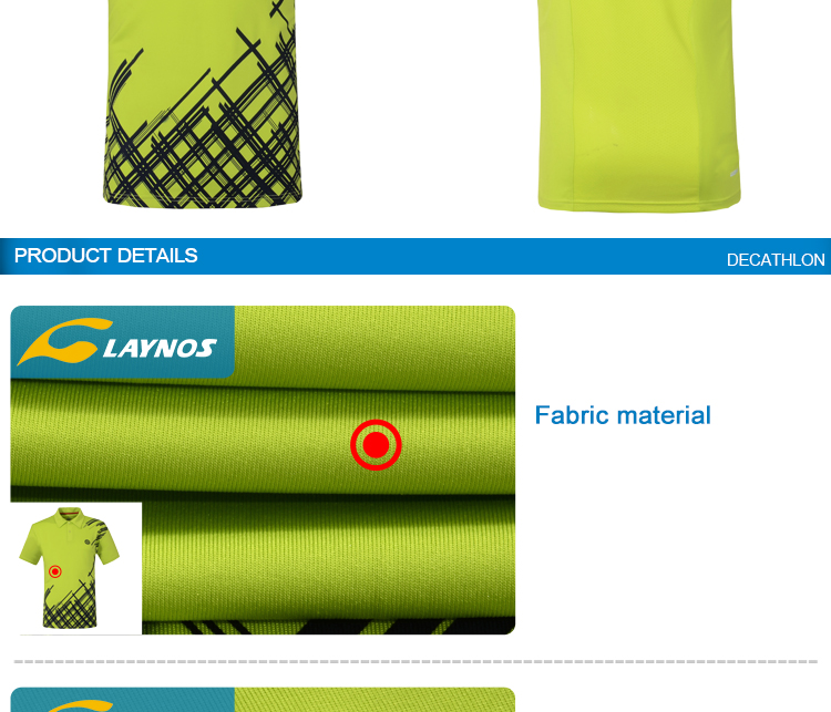 100% microfiber polyester polo collar sport t shirts men wholesale