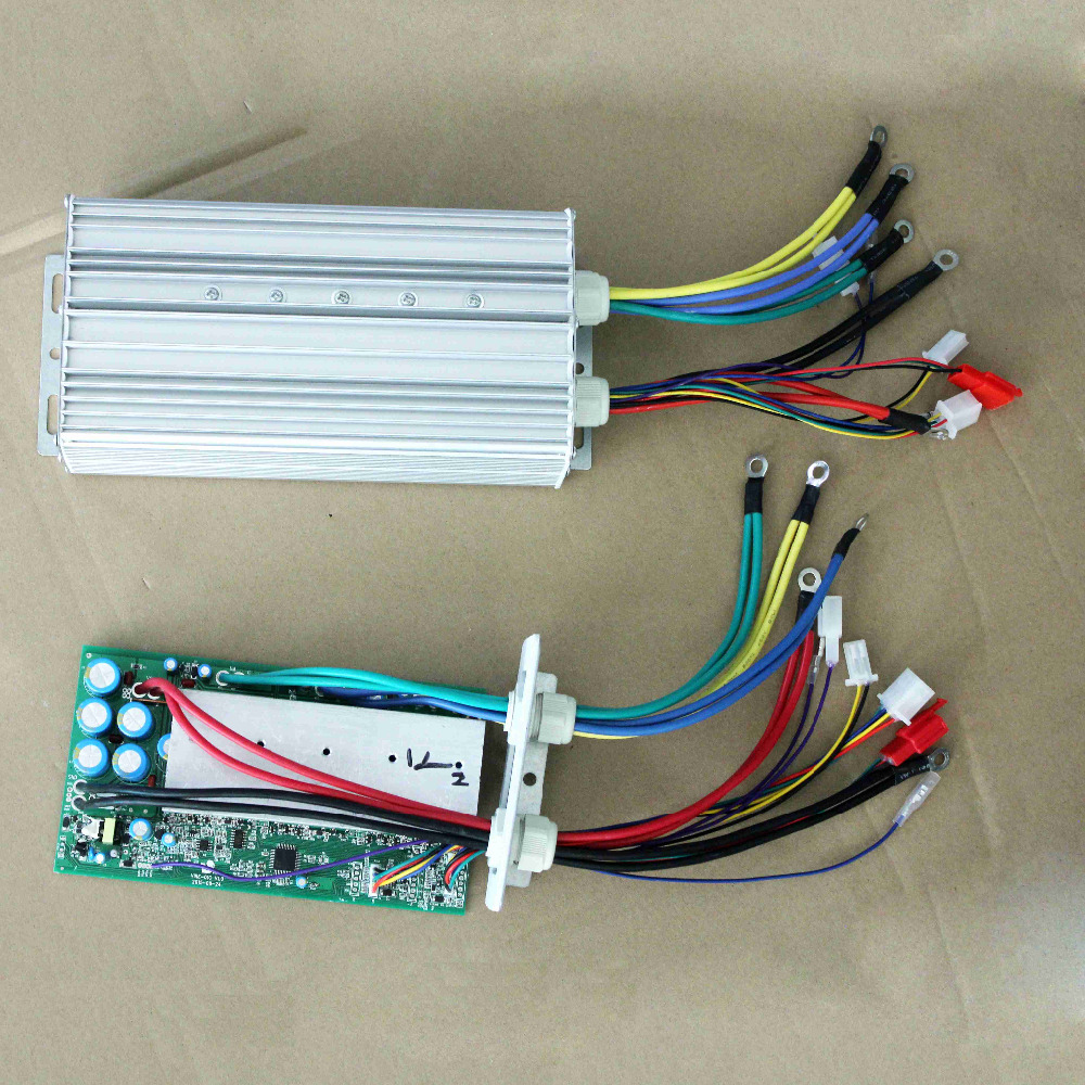 24 tube 48v 50a electric vehicle dc motor controller