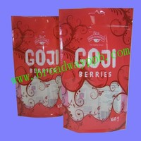 custom certificated food grade stand up plastic ziploc bags for food
